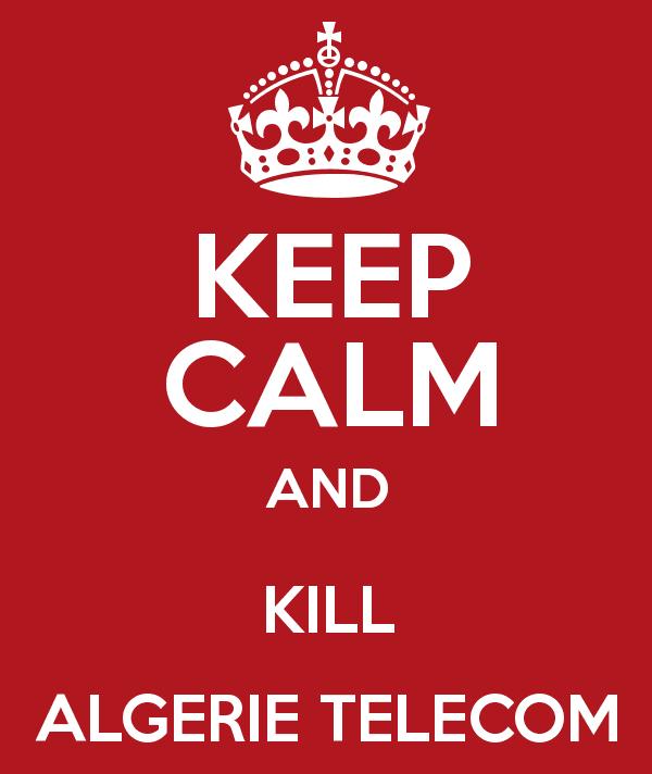 Algerie Télécom je te haï