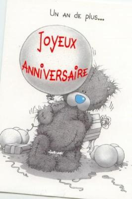 Joyeux anniversaire me to you - Nounours me to you ...