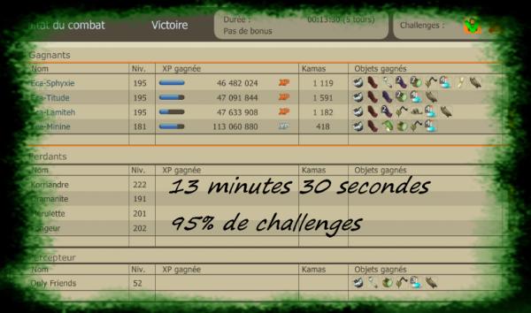 Frigost 2 terminé , record & changement de serveur