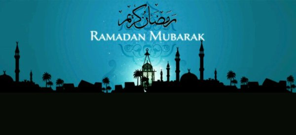 Bon courage à tous mes amis musulmans en ce mois de Ramadan