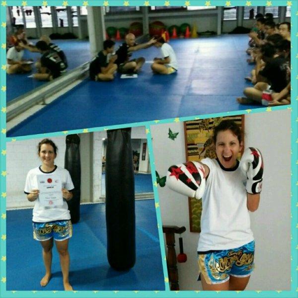 Muay Thai test