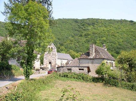 Petit village de Laval-sur-Luzège