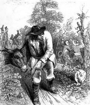 Les voleurs et l'âne