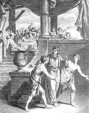 Simonide préservée des Dieux