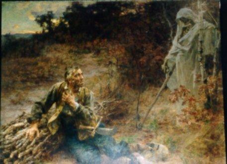 La mort et le Malheureux
