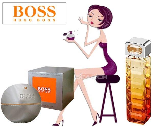 échantillon du nouveau parfum boss orange