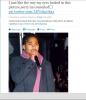 Roc Royal tweet une photo de lui sur Twitter le 1 Février 2014