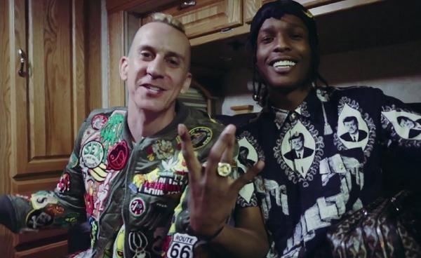 Jeremy Scott & A$AP Rocky