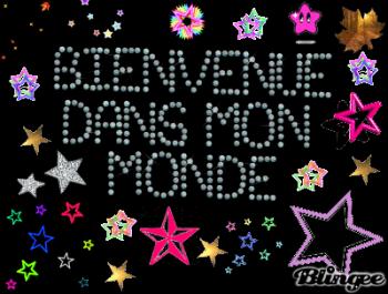 ☀ BIENVENUE DANS MON MONDE ! ☀