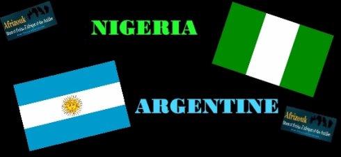 argentine1 -0nigeria