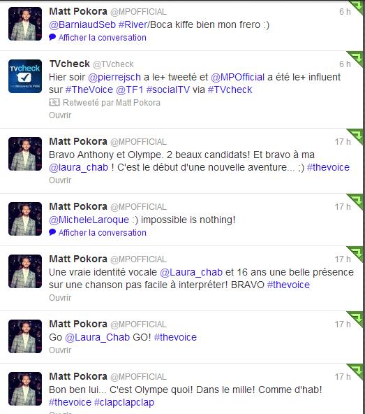 Matt Pokora @MPOFFICIAL 05/05/2013