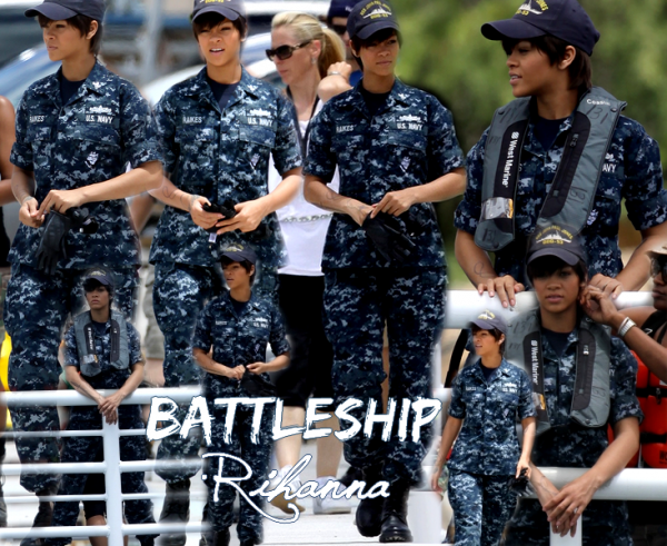 On The Set  BattleShip