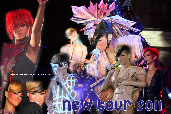 Nouvelle tournée de Rihanna :: LOUD Tour 2011 BABY !