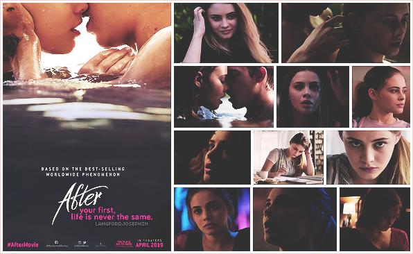 .  ▬ Découvrez le premier poster officiel du film After et quelques captures de Josephine :