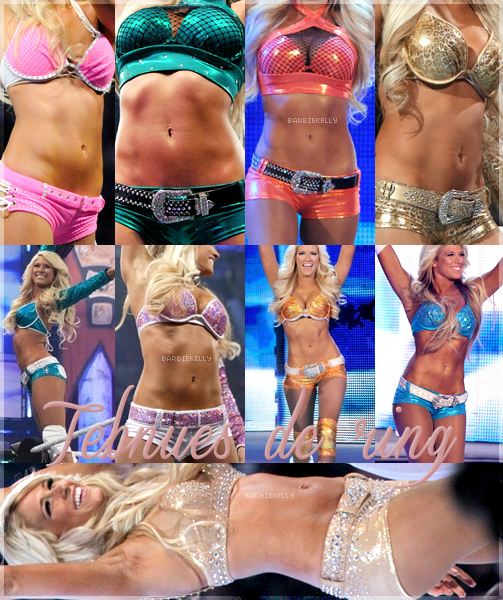 La perfection, c'est elle ♥ Ses tenues de ring