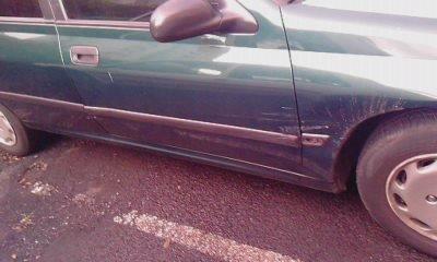 SLT un voiture mais rentree dedans elle c est pas arreter a un stop putainA BTT