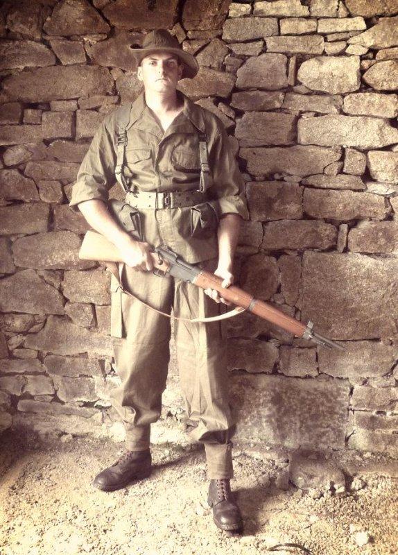 5e régiment étranger d'infanterie en Algérie .