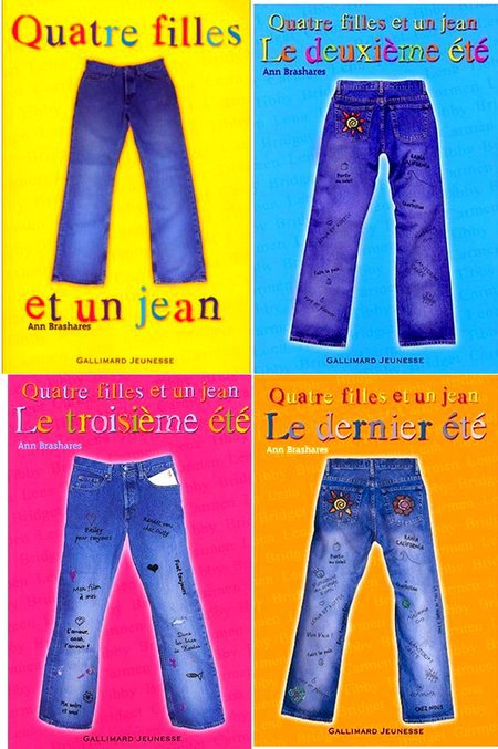 Série quatre filles et un jean