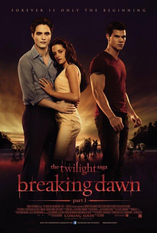 Avis sur breaking dawn partie 1
