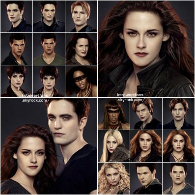 Photoshoot  Kristen + photos promo breaking dawn partie 2