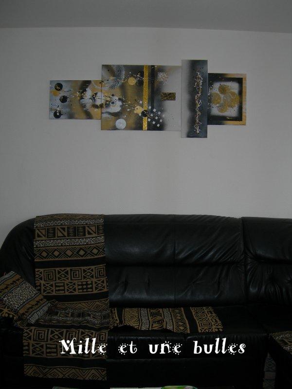 quelques toiles chez mes clients