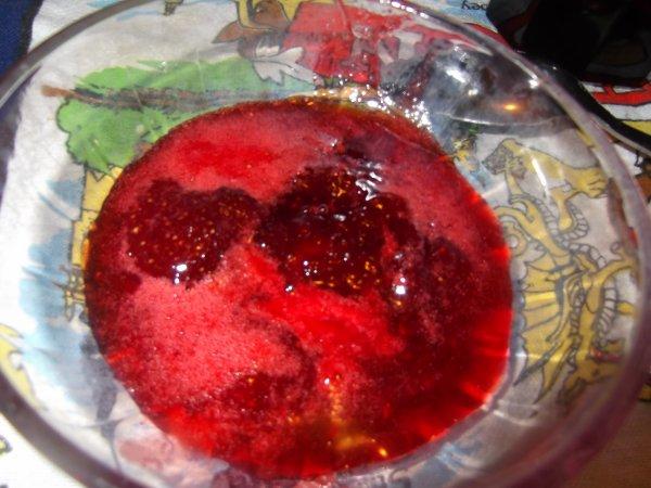 Ma confiture de fraises
