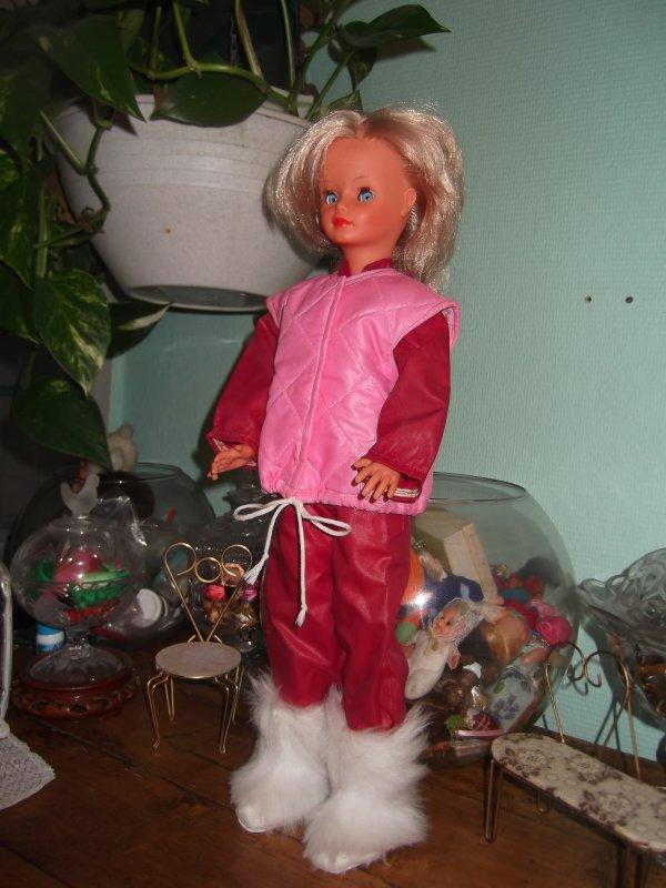 Nathie 1983 tenue de ski