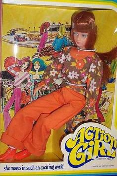 Miss Dollikin/ Action girl de Palitoy