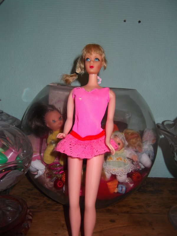 Barbie en maillot
