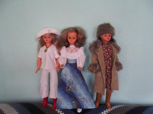 Ma Cathie 1976, tenue de présentation bleue, le Touquet 1976 et Katiouchka 1979