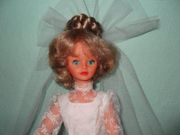 """Cathie en """"nuptiale"""" 1982"""