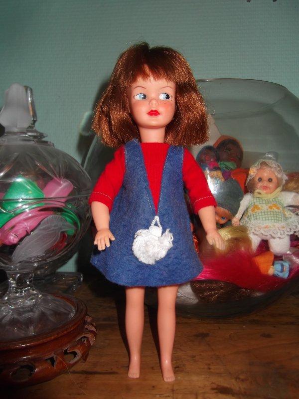 Patch en tenue Dodie 1964 Pedigree