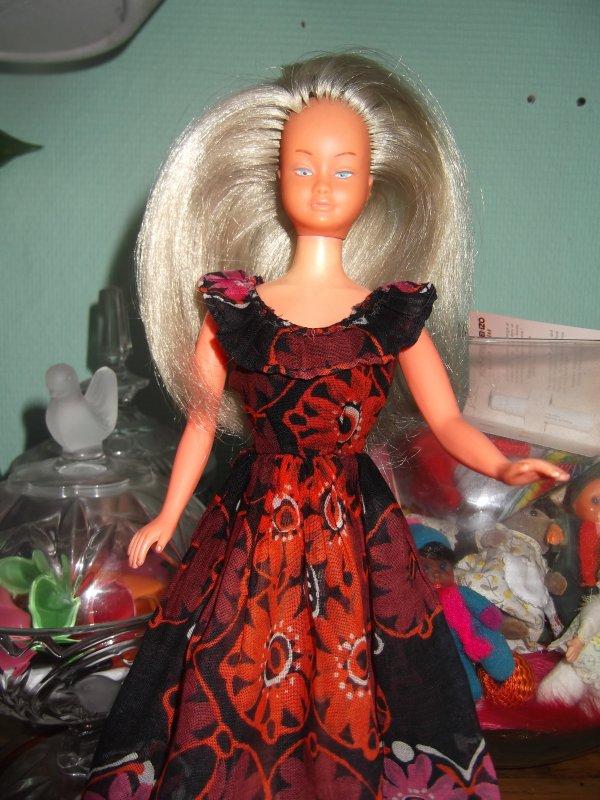 Cabaret de Gégé, robe pour Mily