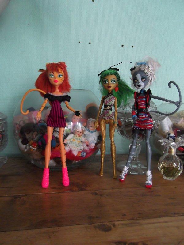 Lot Monster High