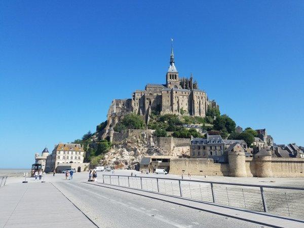 Hier, le Mont Saint Michel