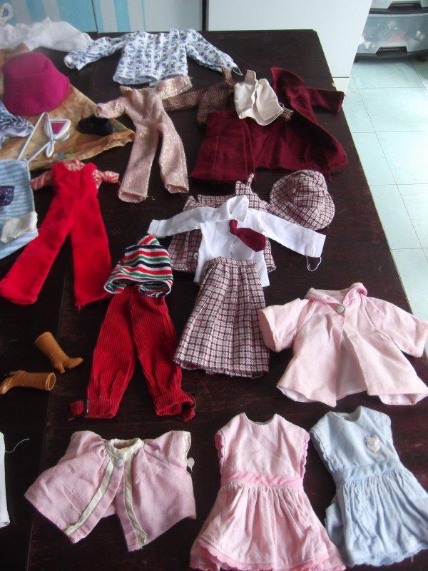 Après les poupées, les tenues!