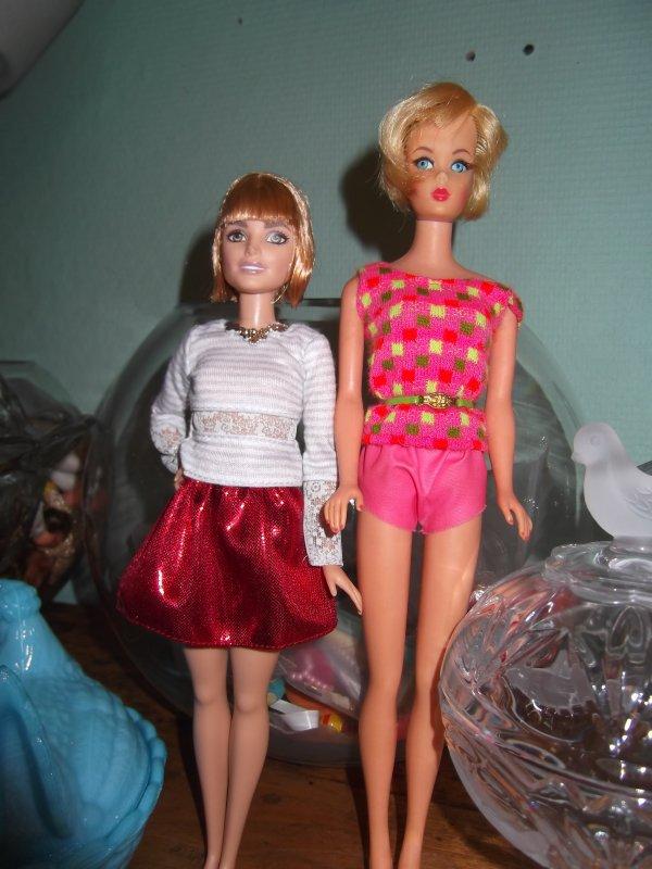 Différences entre Barbie et Barbie