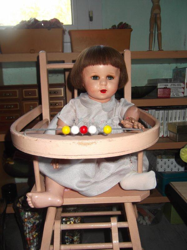 Nouvelle chaise haute pour Nicole