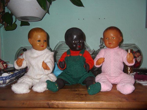 Trio de bébés