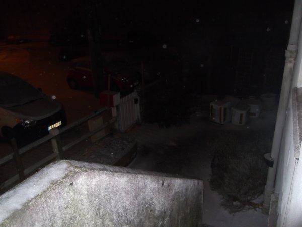 Paysage nantais, on en profite, sous la neige!