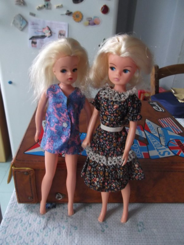 Sindy is back, the doll you love to dress, les blondes!