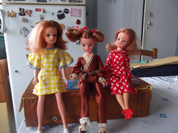 Sindy, the doll you love to dress, les rousses!