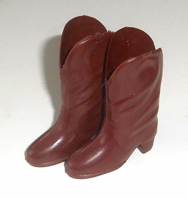 Pour aider à l'identification des chaussures Sindy: les bottes