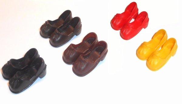 Les chaussures Sindy ne se cachent plus...