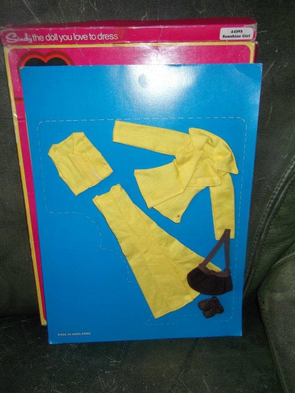 Superbe cadeau Sindy... n° 44303 sunshine girl 1977