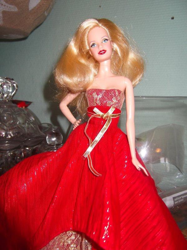 Barbie de noël 2014