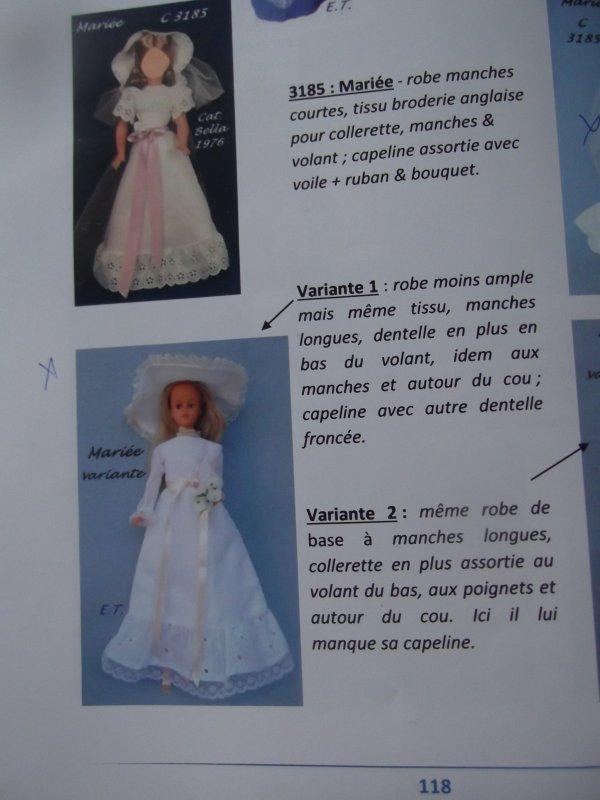 Tressy 1976 une autre variante de la robe de mariée
