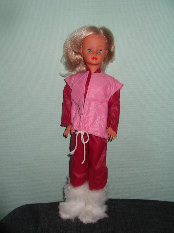 1983 tenue de ski Nathie