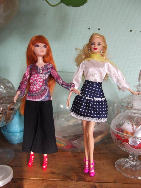 Barbie de noël...