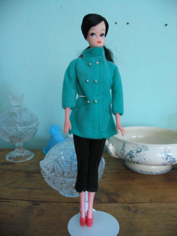 Tenues vintage Barbie et autres années 70